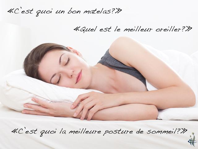 bon matelas bon oreiller bonne posture de sommeil clinique chiropratique nadeau. Black Bedroom Furniture Sets. Home Design Ideas
